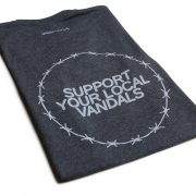 "T-Shirt ""Support Your Local Vandals"""